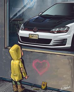 Excellent Free golf gti Strategies The game of golf, as opposed to most golf ball video games, can't and work with a standardized participating in spot, Vw Golf Wallpaper, Wallpaper Carros, Vw Golf R Mk7, Gti Mk7, Volkswagen Golf Mk2, Honda Civic Hatchback, Golf 7, Car Drawings, Dream Cars