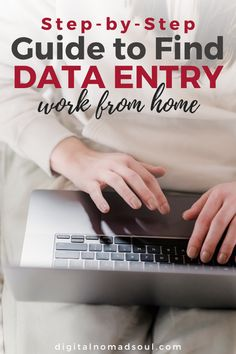 Do you want to find a flexible remote job so you can work from home even as a beginner with no experience? Working in data entry could be perfect for you!This step-by-step guide explains in detail how you can find data entry jobs that are legit, pay well and are entry-level jobs. Check it out now! #remotework #workingfromhome #sahm #entryjob #digitalnomad #sidehustle Work From Home Jobs, Make Money From Home, Make Money Online, How To Make Money, Data Entry Clerk, Customer Service Jobs, Online Data Entry, Healthcare Jobs, Typing Skills