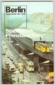 Reiseführer aus dem Jahr 1978 für den Prenzlauer Berg/damals Bahnhof Dimitroffstraße, heute Eberswalder Straße