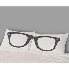 Glasses Pillow Covers now featured on Fab.
