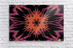 The Golden Hyacinth Acrylic Print