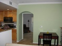 Benjamin Moore Kittery Point Green Wall Even More Beautiful In Person I Also Have It On My Bedroom