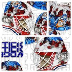 Tokarski's new mask.