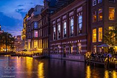 Summer evening in Amsterdam by dragrund. Please Like http://fb.me/go4photos and Follow @go4fotos Thank You. :-)