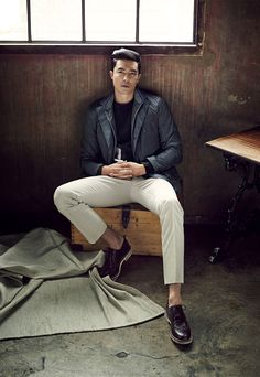 stylekorea:    Daniel Henney for Pespow S/S 2015