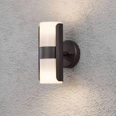 Außenleuchte Modena Lalu - Metall/Kunststoff - 2-flammig