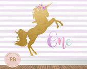 Unicorn digital cumpleaños fiesta fondo fondo Unicornio, cumpleaños arco iris, unicornio Baby Shower, decoración fiesta Unicornio, primer cumpleaños