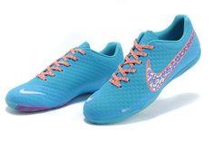 Chaussures de foot nike Elastico Finale II Bleu pas cher