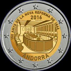 2€ Andorra 2016 -Reforma-