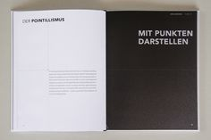 Punkt – book design on Behance