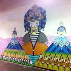 Koralie, Quai36, Gare du Nord Paris, 2015