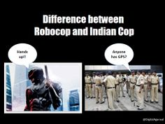 #Robocop vs Indian Cop
