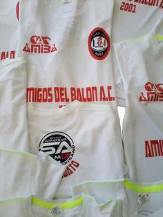 Playera Sublimada Amigos del balón (AMIBA) Sublimado y personalización S P.  Contacto  55 5afe7a8de85dc