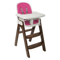 OXO Tot Sprout Chair.  Another great highchair option.  Maybe I will need the pink someday?  ;)
