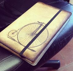 Ride away and take your creativity on a ride Vintage Bicycles, Journal Covers, Moleskine, Creativity, Magazine Covers, Vintage Bikes