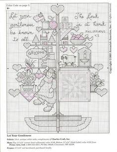 Patrones punto de cruz (solo country) (pág. 4) | Aprender manualidades es facilisimo.com