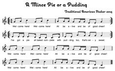 A Mince Pie or a Pudding - Beth\'s Notes