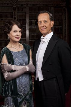 Newcomer: Richard E. Grant joined the hit show in the second episode but will he be popular?