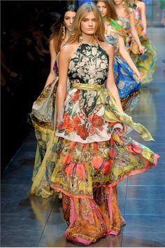Lovely dress - D&G SS2012