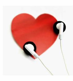 'Listen to your heart.' by *incredi on deviantART I Love Heart, Your Heart, Brainy Quotes, What Is Love, Listening To Music, Music Is Life, New Art, Cool Pictures, Music Pictures