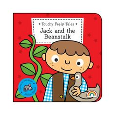 Touchy Feely Tales - Jack and the Beanstalk: Amazon.co.uk: Philip Dauncey, Emma Surry: 9781909090149: Books