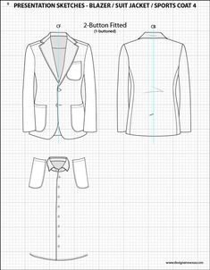 112 best Mens Fashion Flat Sketch Templates images on Pinterest ...