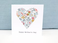 Mother's Day card - handmade by Sarah Alexander