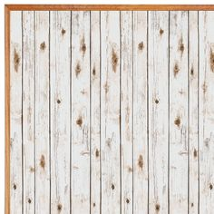 Shabby Chic or Rustic? Large Bulletin Board Paper White Wash Set Of 4