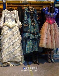 Final Lair, Wishing, and Star Princess dresses. So beautiful!