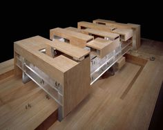 Architectural Model for Grafton Architects
