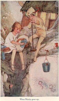 When Wendy grew up - Peter Pan and Wendy by J. M. Barrie, 1921