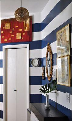 stripes wall sticker