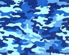 eQuilter Cool Camo - Ocean Blue