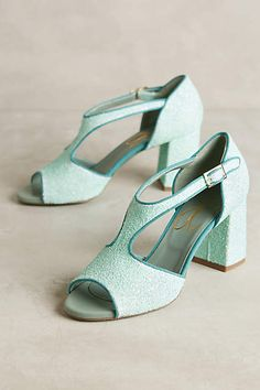 Paola d'Arcano Candied T-Strap Heels - anthropologie.com