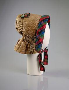Bonnet c.1845 United States MET