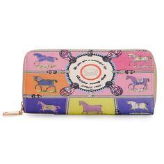 Sale 16% (8.95$) - Women Leather Cartoon Printing Wallet Clutch Bag