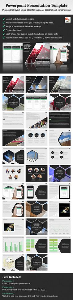Multipurpose PowerPoint Presentation (Vol 01) Presentation - professional power point template