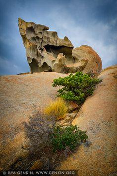landscapes stock photography   The Remarkable Rocks, Flinders Chase National Park, Kangaroo Island, SA, Australia