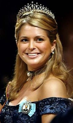 Princess Madeleine wore this tiara for the Ball of Innocence in November 2003.