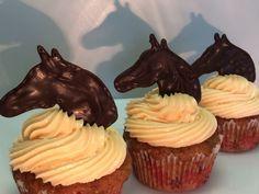 Cupcakes Pferd Reiten Kinder Schokolade