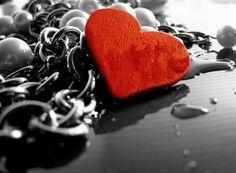Color Splash Art | Color Splash, Hearts. Macro Photography, Colour Splash, Art ...