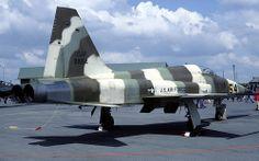 F-5: USAF F-5E Tiger II 01554 RAF Upper Heyford