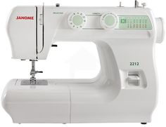 Janome 2212 Sewing Machine is a reliable and dependable, sturdy workhorse that will last for a lifetime with exceptional minimal maintenance