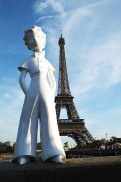 Le Petit Prince en balade à Paris!