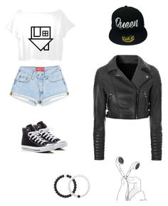 """Character Wardrobe// Singer"" by radioactivenovas on Polyvore featuring Converse, Lovers + Friends and Lokai"