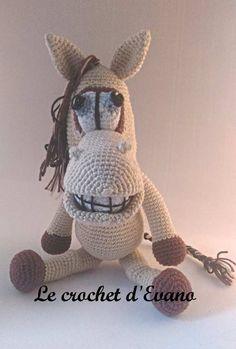 Amigurumi Horson, le cheval. Patron de Lovely Baby Gift