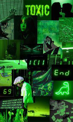 neon green aesthetic iphone wallpaper