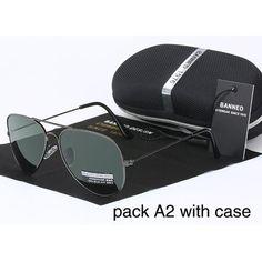 9ba0476c7f1 1976 classic HD polarized metal frame aviation sunglasses classic design  women men feminin brand oculos vintage