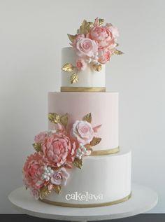 Alana - Custom Wedding Cake Kailua, Oahu, Hawaii