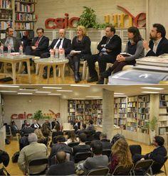 """Entrevista a Luis Arroyo Zapatero y Adán Nieto, sobre la """"Colección Marino Barbero"""", publicada por la Universidad de Castilla-La Mancha."""